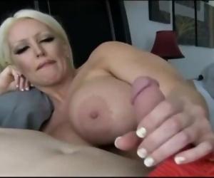 Slutty stepmom seduces..