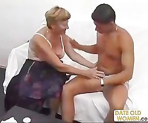 Big Ass German Granny..