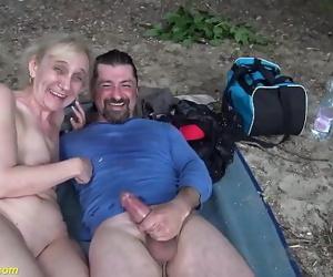 brutal outdoor sex for..