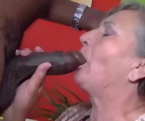 chubby 80 years old mom..
