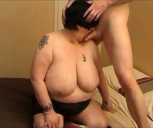 Granny With Huge..