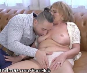 Mature Gets her Titties..