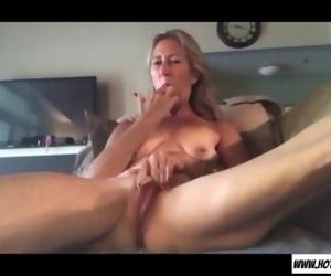 Horny granny small tits..