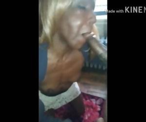 Old nasty granny suck..