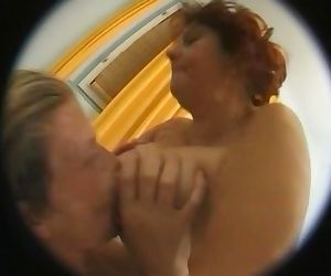 Old lady granny ass..