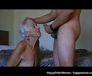 Very old granny loves..