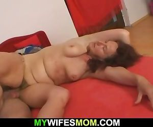 Wife leaves and mother..