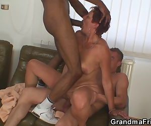 Two dudes have fun with..