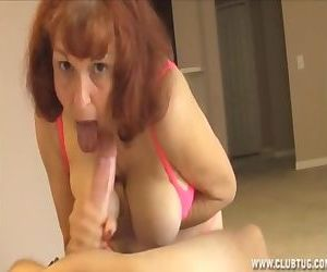 Mature Woman Jerking A..