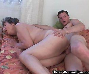 Cock Hungry Grandmother..