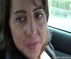 Sexy MILF is so horny..