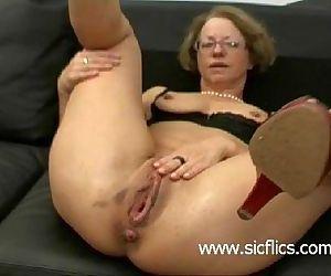 Mature slut gets..