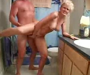 Mature blonde sex in..