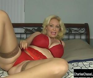 Toy Time for Blonde Big..
