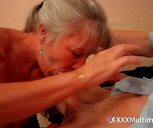Mom seduces stepson on..
