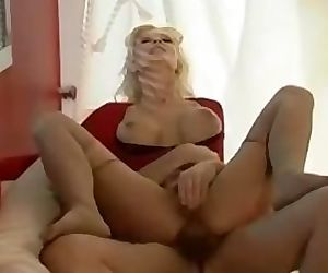 Mature blonde gets..