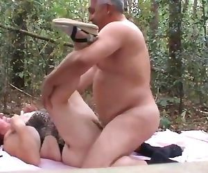 daddy pounds his wife..