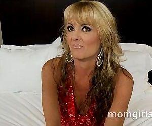 Kinky milfs first porn..