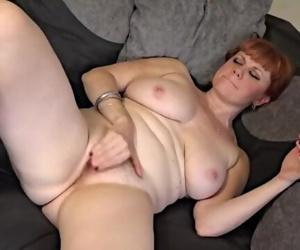 Hot Hairy Redhead MILF..