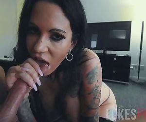 Huge Tits Babe Gives..