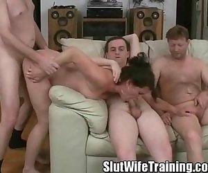 Wife Holly on a Slut..