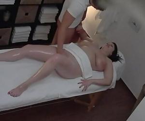 Hot massage turns to..