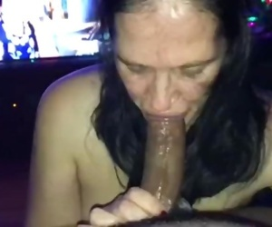 White Slut Worships BBC