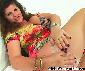 Milf Gilly from the UK..