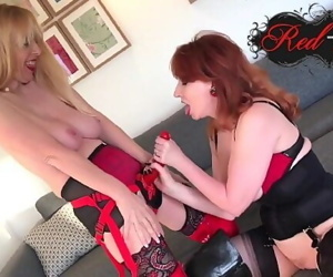 Red and her friend fuck..