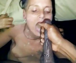 Sweet loving facial BBC..