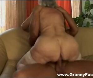 Granny porn star Norma..