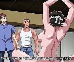 Hentai school girl in..