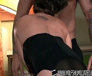 Milf fucked in the ass