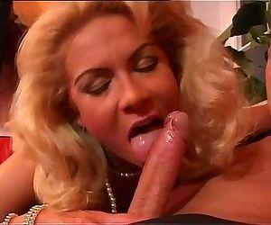 Wonderful blonde milf..