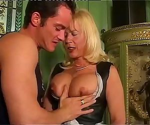 Amazing milf with big..