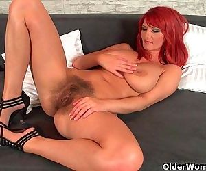 Sizzling hot redhead..