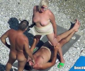 Mature Nudist Granny..