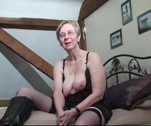 British granny Kim..