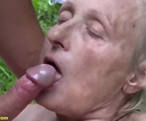 85 years old granny..