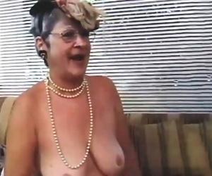 Granny Enjoys Getting..