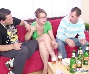 Two guys enjoy fucking..