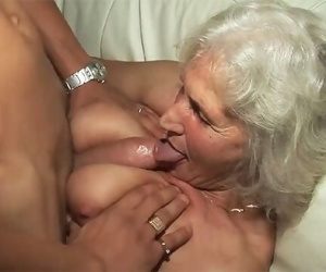 76 years old granny..