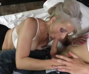 GER: Hairy Grandma Hard..