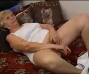 Hot Granny Likes Toys