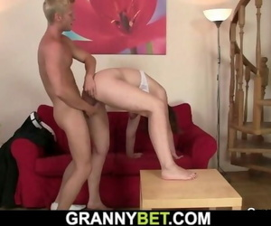 Fucks old Woman in her..