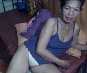 Brunette granny