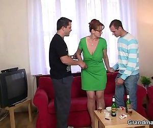 threesome party with..