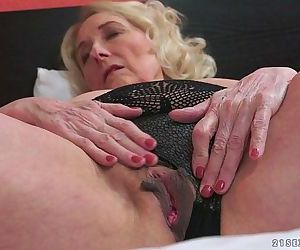 Horny Granny And Her..