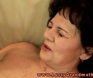 Amature mature grandma..