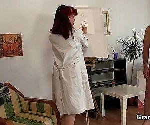 Oldie likes painting..